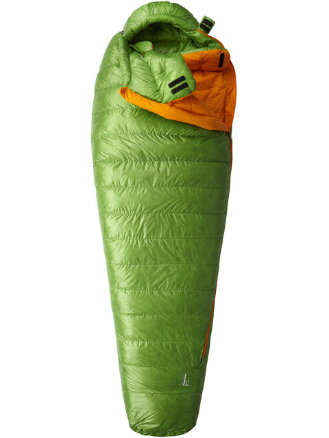 Mountain Hardwear Phantom Flame Sleeping Bag Regular Cyber Green